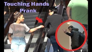 Touching Hands On Escalator Prank 2019 | Prank in Georgia |  Best of Just For Laughs