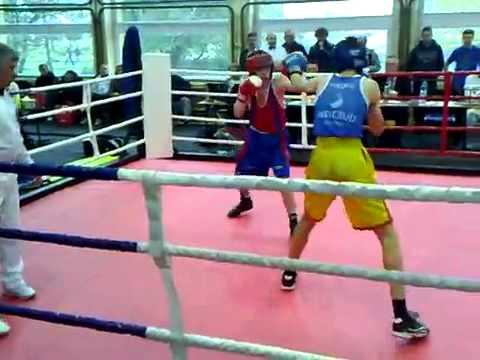 Miller Dawid( Mysłowice) vs Gruchała Damian(Zabrze) kat 57kg Junior