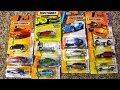 Matchbox 13 Cars Awesome Unboxing of Fun - Mini Cooper Cadillac Dodge Monaco Police Plymouth Prowler