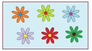 Hướng dẫn vẽ hình cánh bông hoa trên phần mềm vẽ Paint