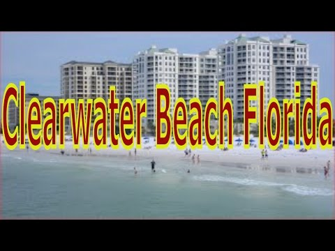 Visiting Clearwater Beach, the Gulf of Mexico in Pinellas County, Florida, United States