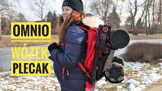 Wózek Omnio - spacerówka w podróż składana w plecak! Recenzja