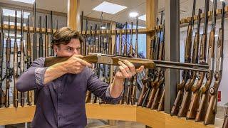 A Hunters Paradise - Showroom Hunting Rifles