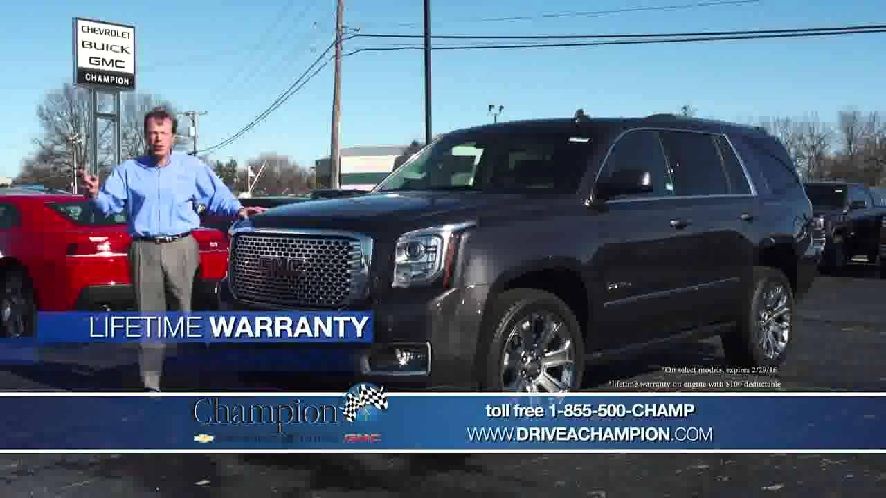 Nice Champion Chevrolet Buick GMC February 2016 TV Spot