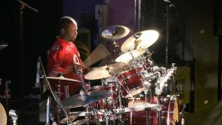 Erroll Rollins at the Electro Music Mick Yates Memorial Drum Festival 2010