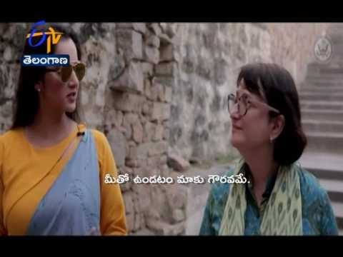 Sania Mirza explain U.S. Consulate General About Golconda fort | Hyderabad