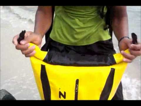 Trendz 30L Waterproof Backpack Premium - YouTube