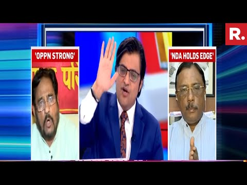 Atul Kumar Anjan Reacts On Bihar's Political Drama | The Debate With Arnab Goswami