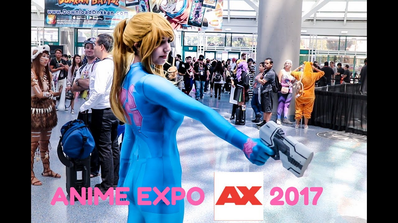 Anime Expo 2017 Cosplay Montage