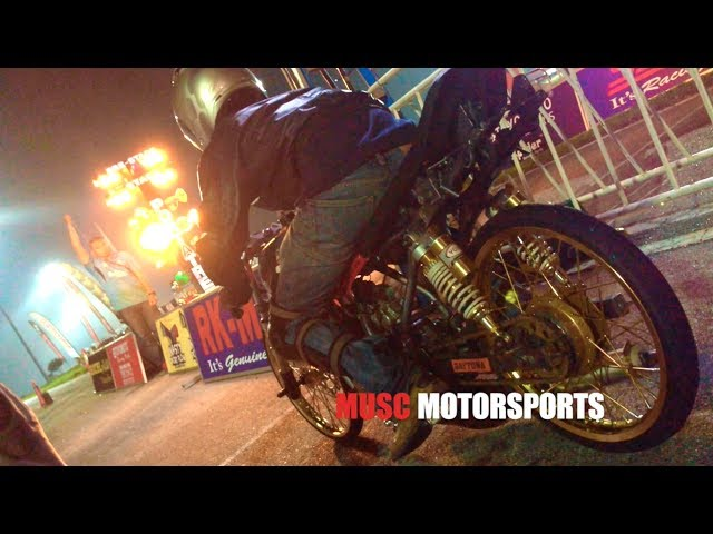 MALAYSIAN DRAG RACING 2013 - RXZ / PANTHER STD BODY - BAKRI, MUAR, JOHOR Travel Video