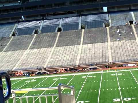 Michigan Stadium tour