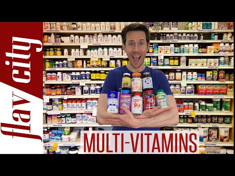 The BEST Quality Multivitamins For Men, Women, & Kids