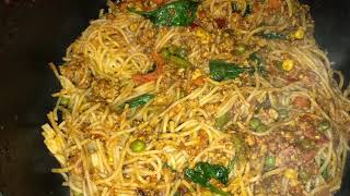 Keema Spaghetti 🍝