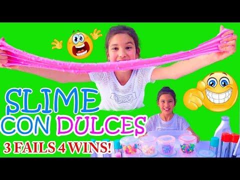 SLIME CON DULCES! | TV ANA EMILIA