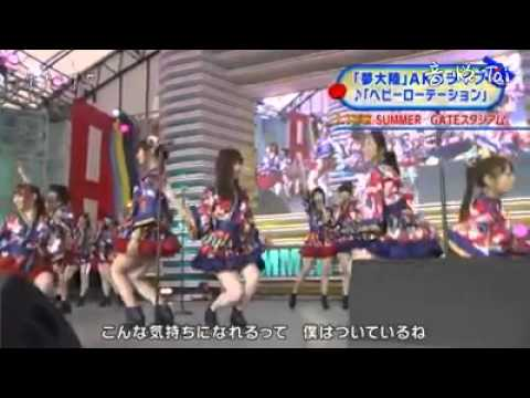 150718 AKB48 「ヘビーローテーション」SKE48 NMB48 HKT48 NGT48 JKT48 乃木坂46 AKB48SHOW!