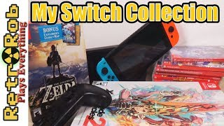 My Nintendo Switch Collection 2018 Edition