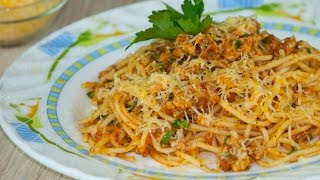 Спагетти болоньезе по-домашнему. Простые рецепты от wowfood.club