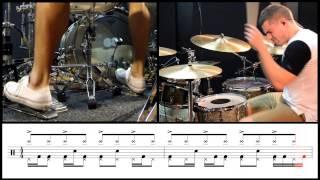 Troy Wright - Meshuggah - Spasm - Live Transcript
