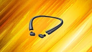 LG Tone Free Completely Wireless Earbuds! Review and Unboxing!