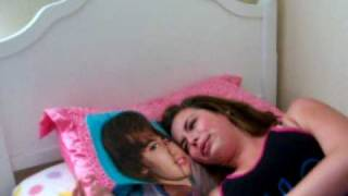 13 year old cries over Justin Bieber