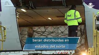 El secretario de Estado de Estados Unidos, Antony Blinken confirmó la entrega de 1.3 millones de vacunas contra el Covid-19 a México, las cuales se espera se apliquen en los estados fronterizos mexicanos
