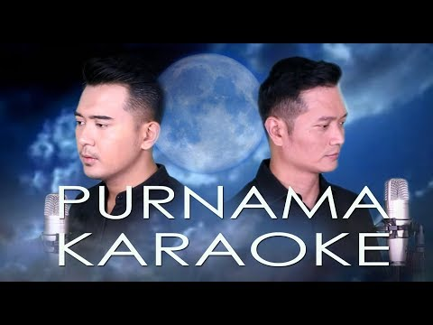 PURNAMA (LESTI) - ANDREY&FIQRI COVER VERSION | KARAOKE MALE KEY