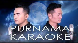 PURNAMA (LESTI) - ANDREY&FIQRI COVER VERSION   KARAOKE MALE KEY