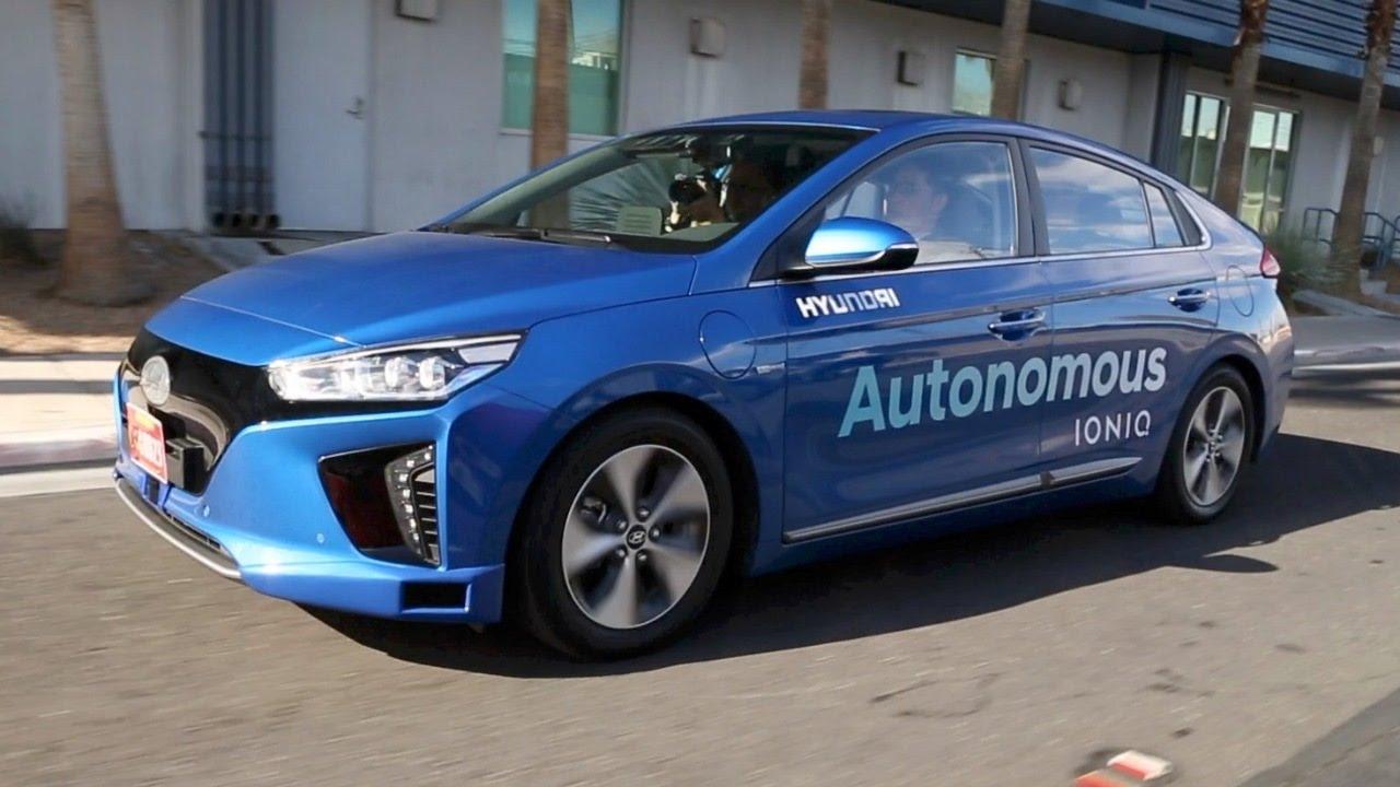Hyundai Mulai Geber Kendaraan Swakemudi
