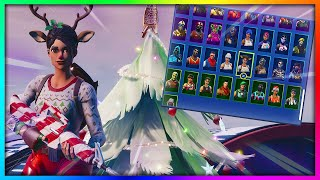 "Before You Buy ""RED-NOSED RAIDER"" - All Skin and Back Bling's Combinations in Fortnite"