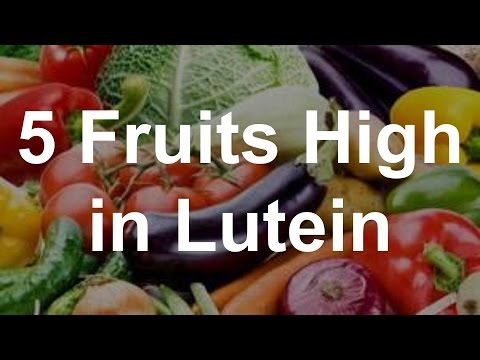 5 Fruits High In Lutein