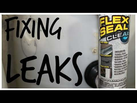 Aquaponics - Fixing Leaks with Flex Seal