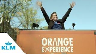 Klm & Heineken - The Orange Experience 2015