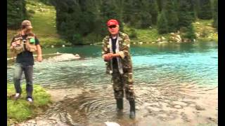Wild Rainbow Trout Fishing in Kyrgyzstan