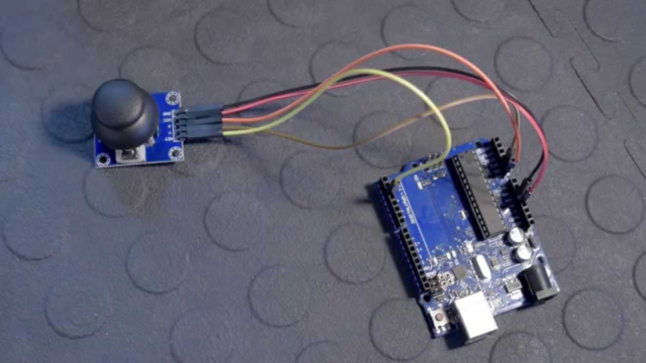 How to connect and use an Analog Joystick with an Arduino - Tutorial