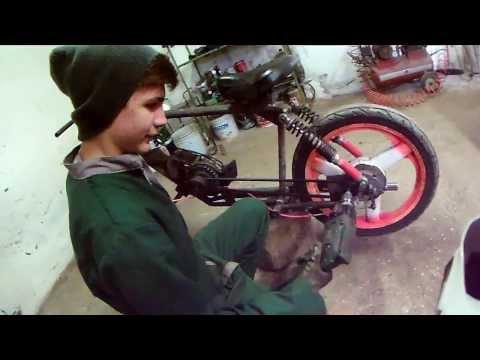Chopper HandMade 50cc - Project #1 - OnBoard Mirco