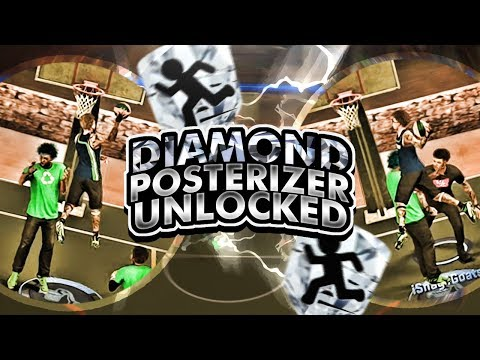I UNLOCKED THE RAREST BADGE IN THE GAME! DIAMOND POSTERIZER UNLOCKED! UNREAL CONTACT DUNKS! NBA 2K17