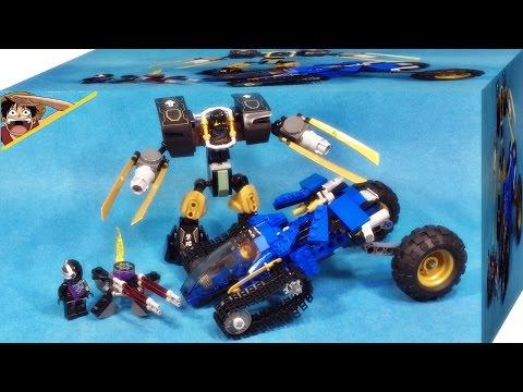 레고 닌자고 제이의 썬더 레이더, 콜의 어스 로봇 70723 조립 리뷰 Lego Ninjago Thunder Raider