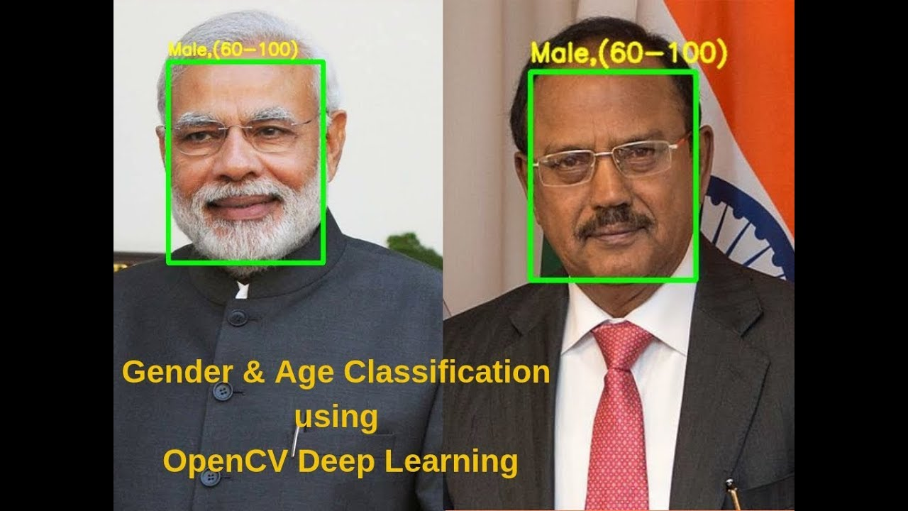 Gender and Age Classification using Deep Learning | Learn OpenCV