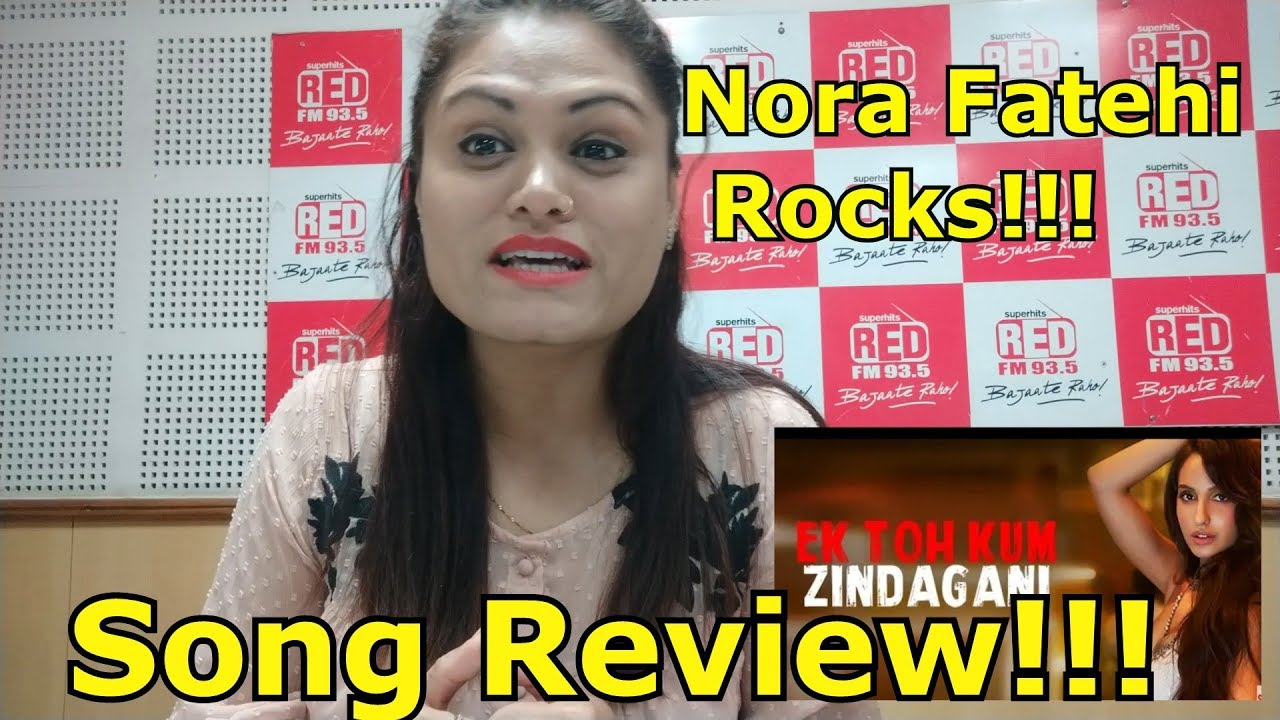 Ek To Kam Zindgani Song Review: Nora Fatehi New Song from