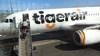 Video Flight Review Tiger Airways Sydney to Melbourne A320 download MP3, 3GP, MP4, WEBM, AVI, FLV November 2017