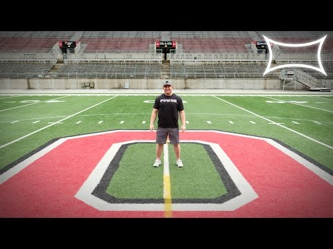 Mark Bell Got On The Ohio State Football Field!