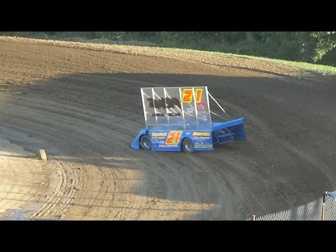 Outlaw late models Time trials at Crystal Motor Speedway on 09-04-16.