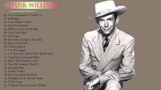 Hank Williams : Greastest Hits - The Best Albums of hank Williams