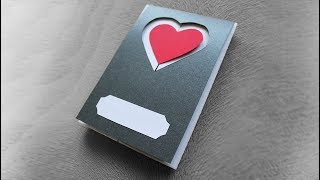 How to make a love card for loved ones - Beautiful handmade cards