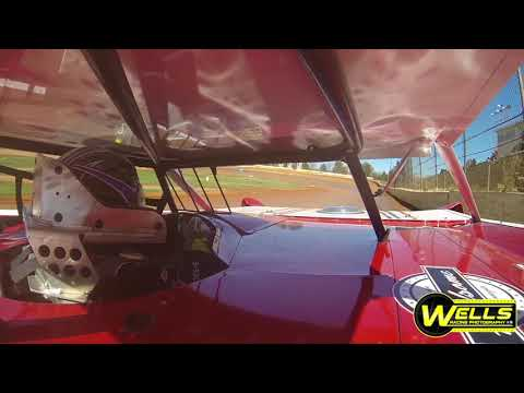 Jed Emert In-Car / 411 Motor Speedway / Open Test-N-Tune 3-3-18