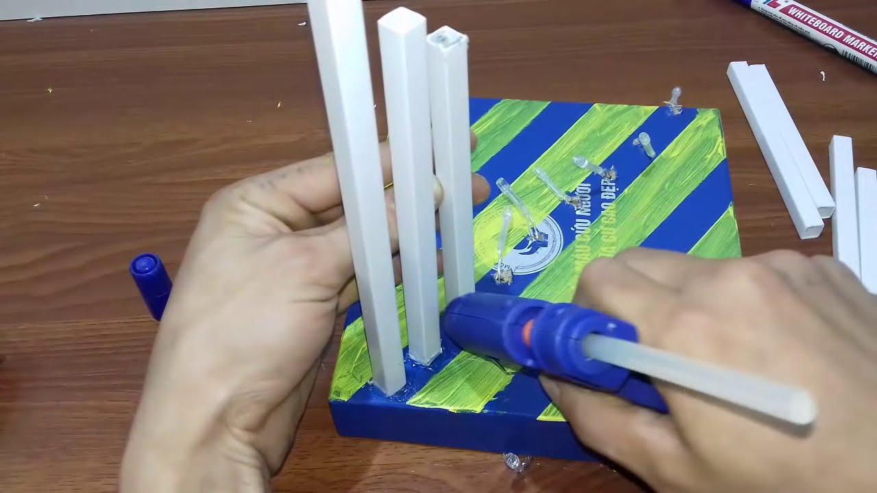 How To Make Diy Plastic Pipe Lamp Youtube