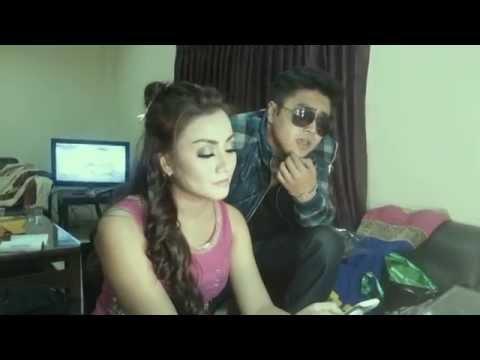Shreya Maya and Dedi Regardo Video Back Stage Iseng2_Tera Naina Full
