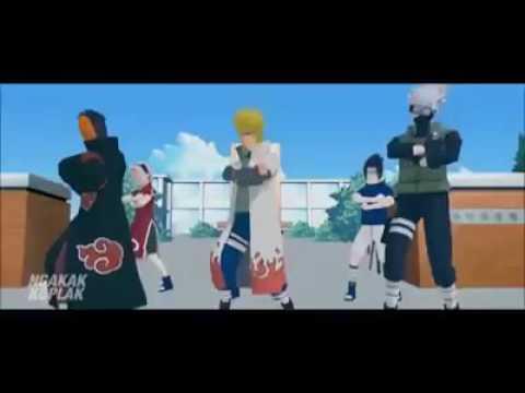 Naruto nyanyi sambalado