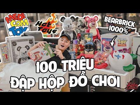 100 Triệu Đập Hộp Đồ Chơi ( Bearbrick, Medicom Toy, Hot Toys)