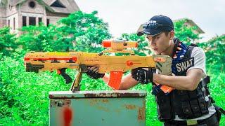 LTT Game Nerf War : Police Warriors SEAL X Nerf Guns Fight Inhuman Group Dangerous Assassin
